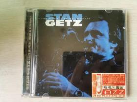 CD:STAN GETZ:a life in jazz: a musical biography 1CD盒装 完美流畅播放 原版斯坦·盖茨 萨克风