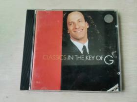 CD:KENNY G Classics in the key of G 1CD盒装 完美流畅播放