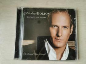 CD:MICHAEL BOLTON:BOLTONSWINGS SINATRA 1CD盒装 美国原版 流畅播放