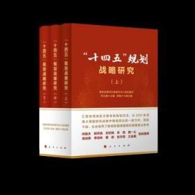 """""""十四五""""规划战略研究(全三册) 9787010236247"""