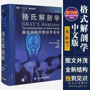 正版 格氏解剖学 中文版 斯坦丁 书籍图书 医学 基础医学 解剖学 (英)斯坦丁