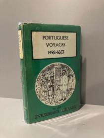 Portuguese Voyages(《葡萄牙游记》,Charles David Ley编,布面精装,带护封,1960年老版Everyman丛书)