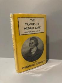 The Travels of Mungo Park(《芒格·帕克游记》,精装,带护封,1960年老版Everyman丛书)