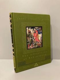 The Adventures of Robin Hood(《罗宾汉历险记》,水彩大师Walter Crane经典插图,Everyman丛书,布面精装,可读可藏)