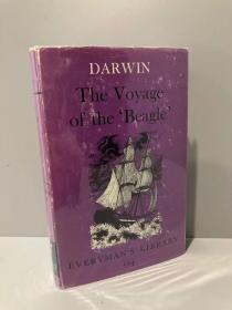 The Voyage of the Beagle(达尔文《小猎犬号航海记》,精装,带护封,1965年老版Everyman丛书)