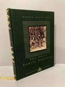 The Swiss Family Robinson(怀斯《海角乐园》,Louis Rhead插图,Everyman丛书,布面精装,可读可藏)