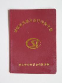 陵县劳动和社会保障局《城镇居民基本医疗保险手册》