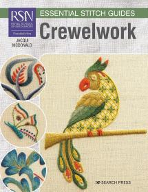 绒线刺绣指南 RSN Essential Stitch Guides: Crewelwork