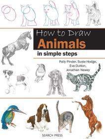 原版 动物简笔画步骤解析 How to Draw: Animals in Simple Steps