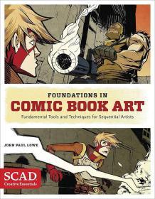 Foundations in Comic Book Art: 创作要点 顺序艺术家的基本工具