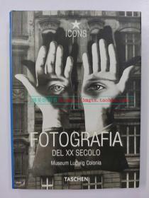 非英文 欧版 Taschen原版 20世纪摄影 FOTOGRAFIA DEL XX SECOLO
