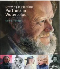 原版 Drawing & Painting Portraits in Watercolour水彩肖像画集