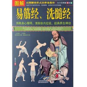 正版 《图解易筋经、洗髓经》 易筋经养生达摩古法与少林功夫武术