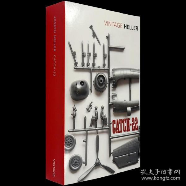 全新现货英文原版Catch-22第二十二条军规 约瑟夫海勒经典小说 9780099470465