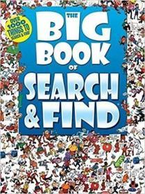 现货 The Big Book Of Search & Find 英文原版 进口儿童找茬 9781741841466