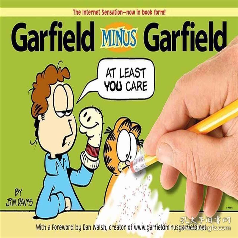 英文原版 加菲猫漫画 Garfield Minus Garfield 9780345513878