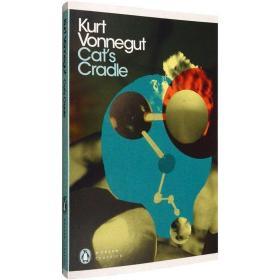 全新现货英文原版猫的摇篮Cat's Cradle冯古内特Kurt Vonnegu经典 9780141189345