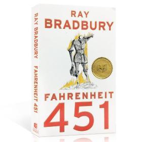 英文原版 Fahrenheit 451 华氏451度 雷·布拉德伯雷 蓝思值890L 9781451690316