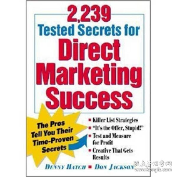 2,239 Tested Secrets For Direct Marketing Success