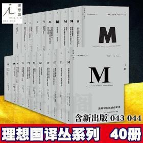 正版 理想国译丛全新套装40册 世界历史 欧洲历史图书 一战二战战 9787305218415