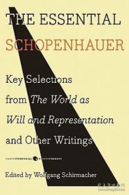预售 英文预定 The Essential Schopenhauer Key Selec