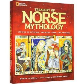 英文原版 National Geographi 美国国家地理 Treasury of Norse M 9781426320989