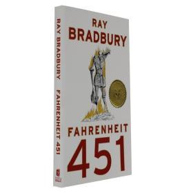 华氏451度 英文原版 Fahrenheit 451 HBO同名美剧原小说 Ray Brad 9781451690316