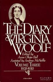 预售 英文预定 The Diary Of Virginia Woolf Volume 3