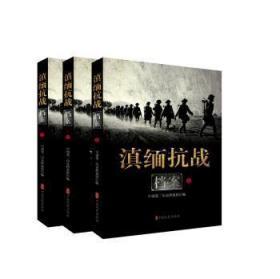 滇缅抗战档案(套装上中下册)
