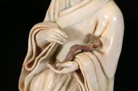 湖田窑人物瓷塑