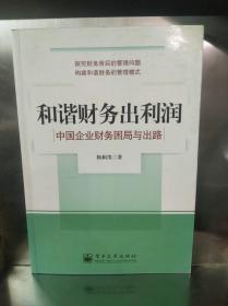 和谐财务出利润:中国企业财务困局与出路