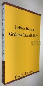《来自不信神祖父的信札》/霍克思, 散文集/ David Hawkes / 限量500部带编号 / Letters from a Godless Grandfather