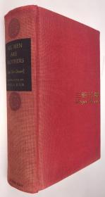 【赛珍珠纪念馆】赛珍珠签名本,《水浒传》/1937年版, 上下卷合订本 /赛珍珠签名题赠 Anne J. Smith / All Men Are Brothers