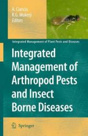 Integrated Management of Arthropod Pests and Insect Borne Diseases-节肢动物病虫害综合治理