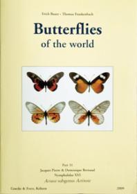 Butterflies of the World, Part 31: Nymphalidae XVI. Acraea, Subgenus Actinote-世界蝴蝶,第31部分:若虫科十六。菊科,菊石亚属