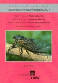 Checklisten der Fauna Österreichs, No. 4 [Checklist of the Fauna of Austria, Volume 4]-动物名录,第4期【奥地利动物名录,第4卷】