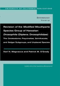 Revision of the Modified Mouthparts Species Group of Hawaiian Drosophila (Diptera: Drosophilidae)-夏威夷果蝇改良口器类群的修订(双翅目:果蝇科)