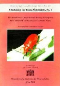 Checklisten der Fauna Österreichs, No. 1 [Checklist of the Fauna of Austria, Volume 1]-《动物名录》,第1期【奥地利动物名录,第1卷】
