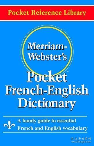Merriam-Webster'sPocketFrench-EnglishDictionary(PocketReferenceLibrary)