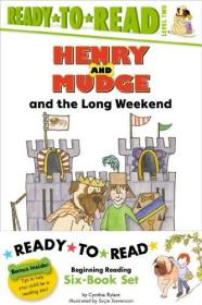 Henry and Mudge Ready-to-Read, Level 2, 6 Books Set