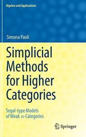 Simplicial Methods for Higher Categories: Segal-type Models of Weak n-Categories