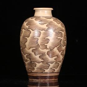 旧藏,吉州窑梅瓶