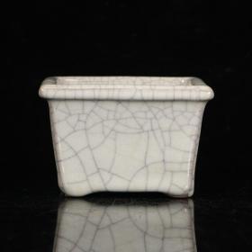 旧藏,哥窑四方形水洗