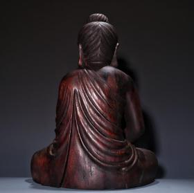 沉香木雕佛造像