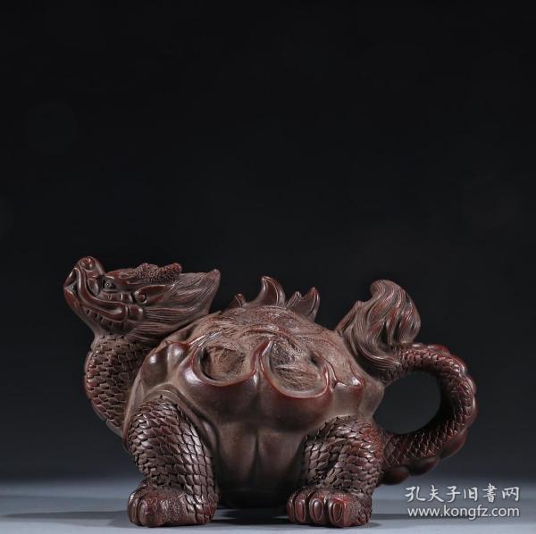 友泉款、龙龟形紫砂壶