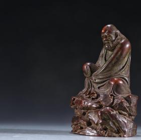 老铜铸造达摩造像