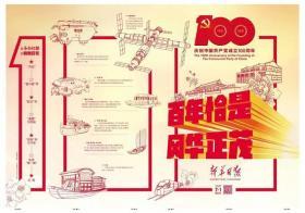 2021年7月1日新华日报 100周年 百版特刊