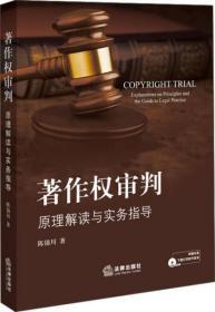 著作权审判:原理解读与实务指导