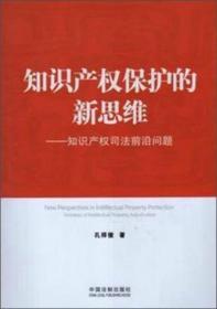 知识产权保护的新思维:知识产权司法前沿问题