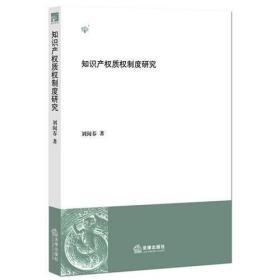 知识产权质权制度研究